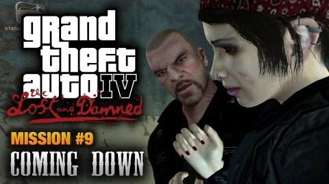 GTA The Lost and Damned - Mission 9 - Coming Down (1080p)