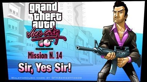 GTA Vice City - iPad Walkthrough - Mission 14 - Sir, Yes Sir!