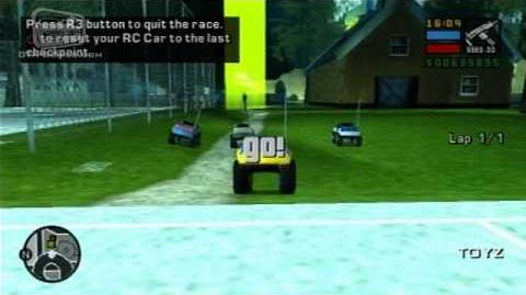 GTA Liberty City Stories - Walkthrough - RC Race - Ragin' RC