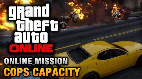 GTA Online - Mission - Cops Capacity Hard Difficulty