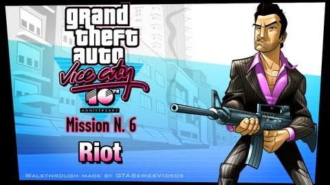 GTA Vice City - iPad Walkthrough - Mission 6 - Riot