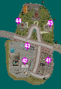 GTAVC HiddenPack 41-45 Prawn Island map