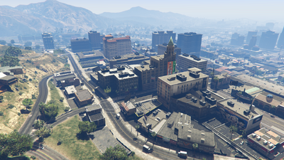 DowntownVinewood-AerialView-GTAV