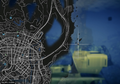 Wreck Container Ship GTAV Map