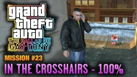 GTA The Ballad of Gay Tony - Mission 23 - In The Crosshairs 100% (1080p)