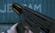 Railgun FPS reloading GTA V PC