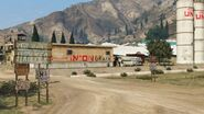 Union Grain Farm GTAV Signage
