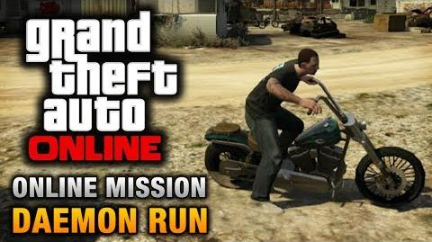 GTA Online - Mission - Daemon Run Hard Difficulty