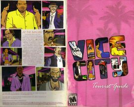 GTA Vice City Original Instruction Book