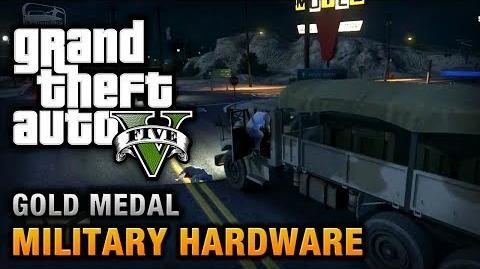 GTA 5 - Mission 51 - Military Hardware 100% Gold Medal Walkthrough