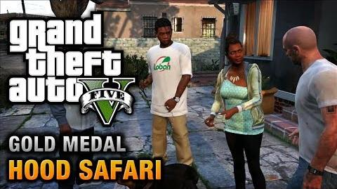 GTA 5 - Mission 27 - Hood Safari 100% Gold Medal Walkthrough
