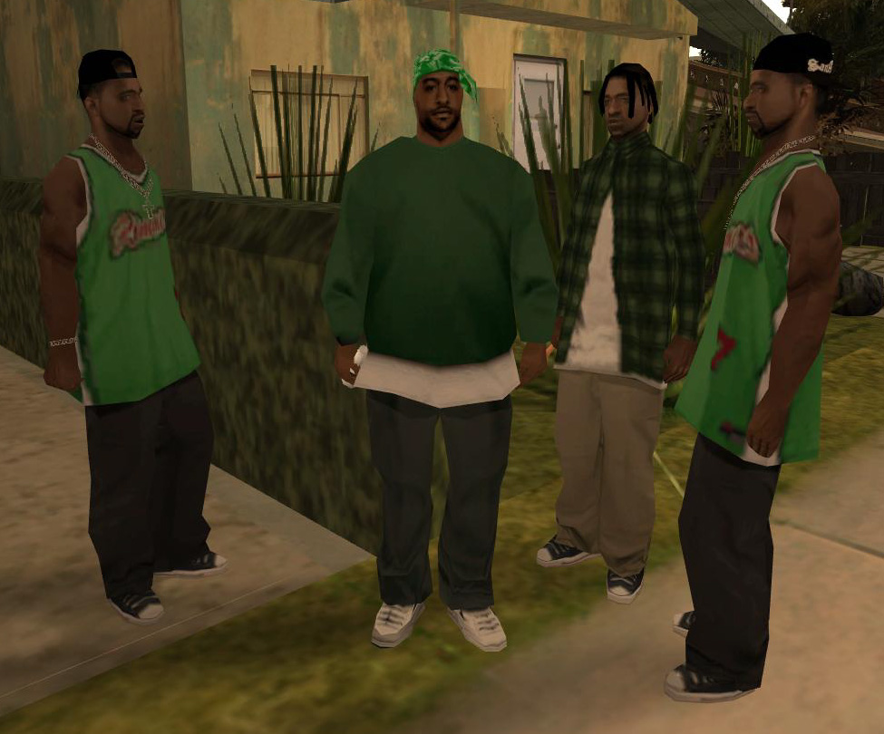 gangs in gta san andreas gta wiki fandom powered by wikia grove street families
