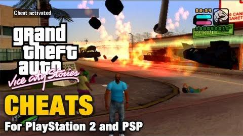 GTA Vice City Stories Cheats