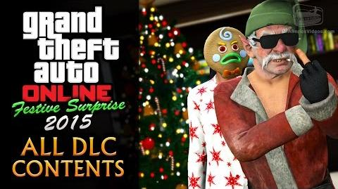 GTA Online Festive Surprise 2015 All DLC Contents