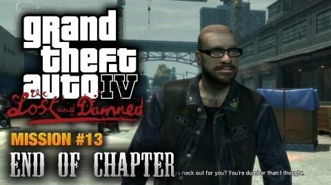 GTA The Lost and Damned - Mission 13 - End of Chapter (1080p)