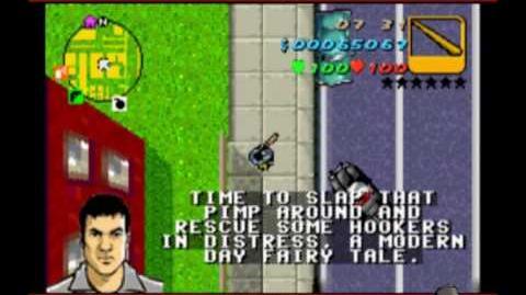 GTA Advance Mission 33 - Bad Pimpin'