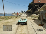 By the Side of the Bay GTAO Jump Ahead