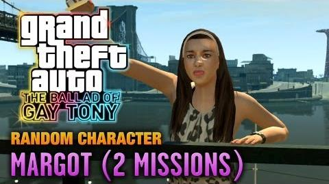 GTA The Ballad of Gay Tony - Random Character 2 - Margot 2 Missions (1080p)
