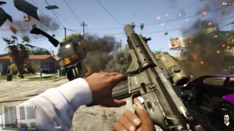 GTA 5 - First Person Mode Gameplay (PS4, Xbox One & PC)