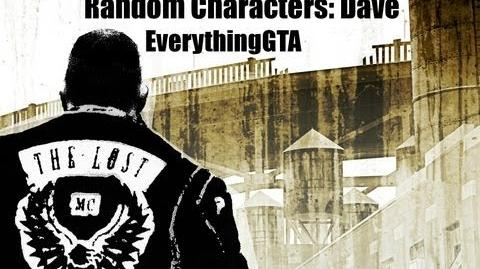 GTA The Lost and Damned Random Characters- Dave