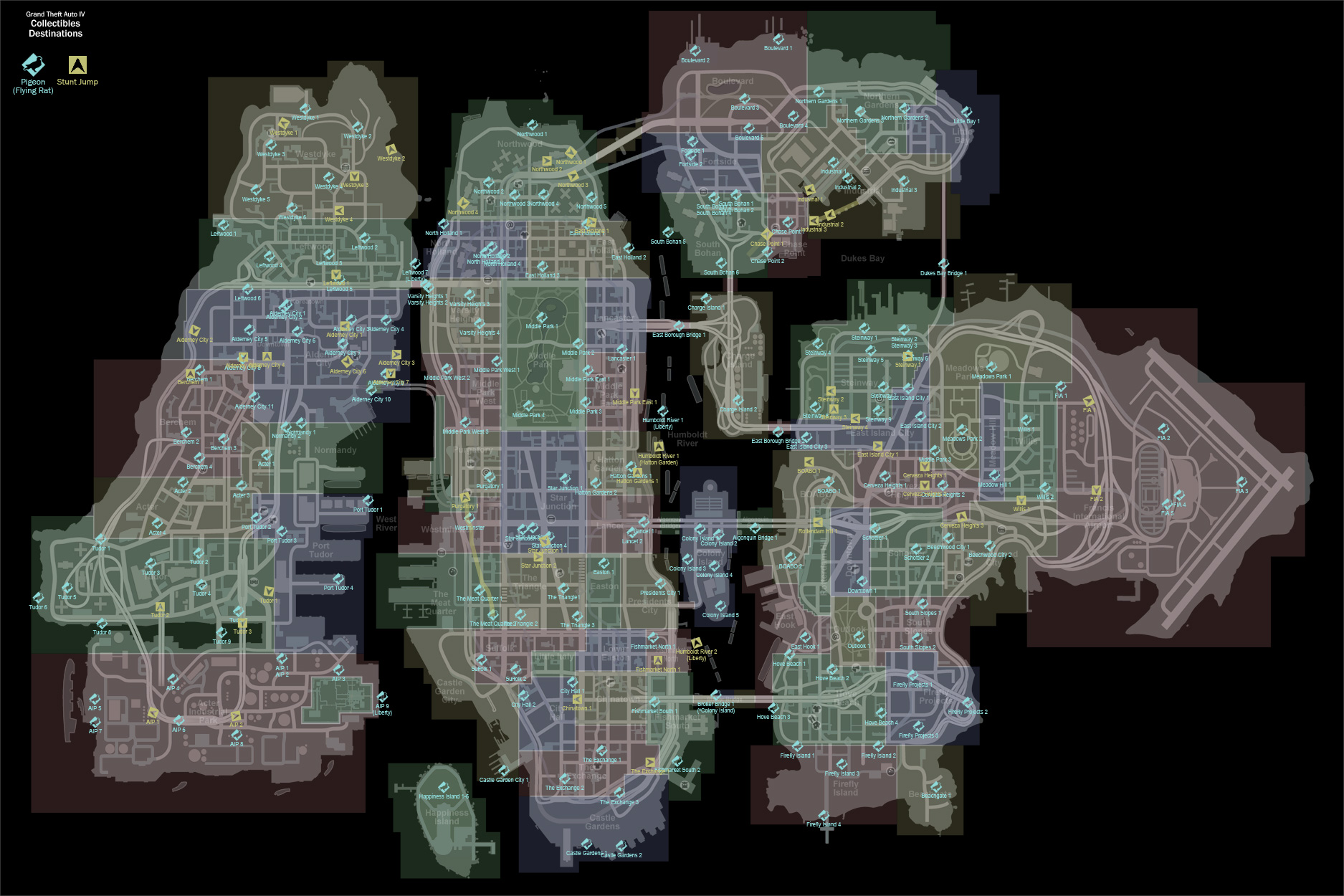 locations - Gta 4 Secret Cars Locations Xbox 360