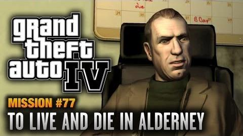 GTA 4 - Mission 77 - To Live and Die in Alderney (1080p)