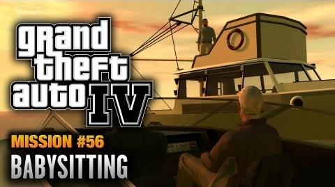 GTA 4 - Mission 56 - Babysitting (1080p)