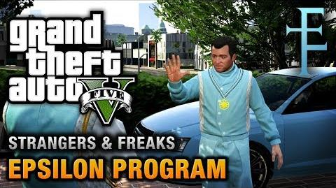 GTA 5 - Strangers and Freaks - Epsilon Program (Kifflom! Achievement Trophy)