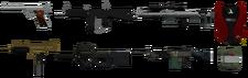 GTA TBoGT guns