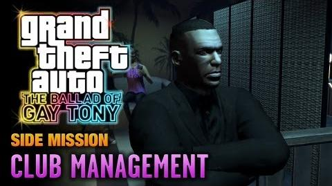 GTA The Ballad of Gay Tony - Club Management (1080p)