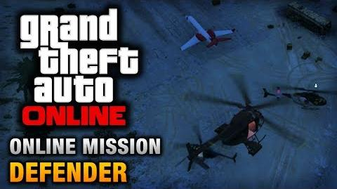 GTA Online - Mission - Defender Hard Difficulty