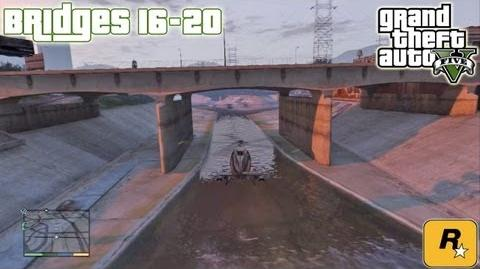 GTA5 Under The Bridges 16-20 (Aerial Challenges) Tutorial Grand Theft Auto V PS3 Xbox 360 ᴴᴰ