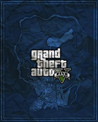 Map of San Andreas-GTAV