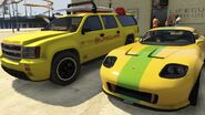 Lifeguard GTAV Yellow vs Lime Green