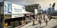Vespucci Beach Sidewalk Market