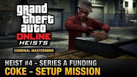 GTA Online Heist 4 - Series A Funding - Coke (Criminal Mastermind)