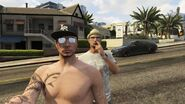 Character Actions GTAV Online Nose Pick