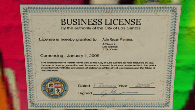File:Benny'sOriginalMotorWorks-GTAO-License.png