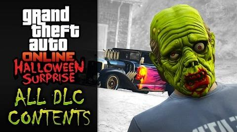 GTA Online Halloween Surprise All DLC Contents
