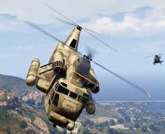 Cargo Helicopter (Front) - GTAV