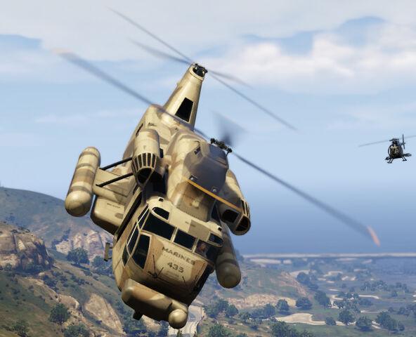 File:Cargo Helicopter (Front) - GTAV.jpg
