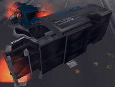 Enforcer-GTA3-wreck