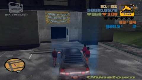 GTA 3 - Walkthrough - Mission 6 - The Fuzz Ball (HD)