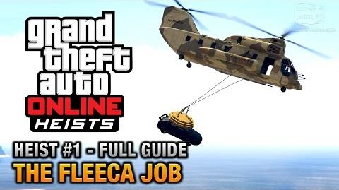 GTA Online Heist 1 - The Fleeca Job (Elite Challenge & Criminal Mastermind)