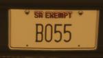 Custom Plate GTAO B055