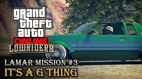 GTA Online Lowriders - Mission 3 - It's a G Thing Hard Difficulty