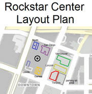 Rockstar Center Layout Plan