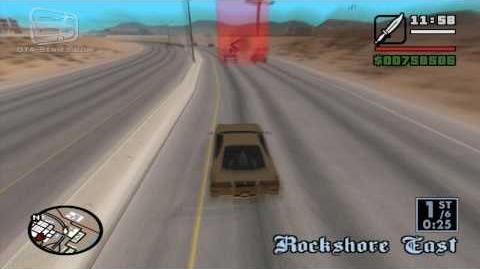 GTA San Andreas - Walkthrough - Street Race - LV Ringroad (HD)