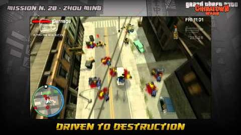 GTA Chinatown Wars - Walkthrough - Mission 20 - Driven to Destruction