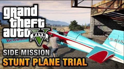 GTA 5 - Stunt Plane Time Trial Challenges 100% Gold Medal Walkthrough